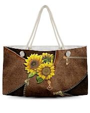 Sunflower pouch Weekender Tote tile