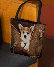 Cute Corgi All-over Tote aos-all-over-tote-lifestyle-front-02