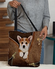 Cute Corgi All-over Tote aos-all-over-tote-lifestyle-front-10