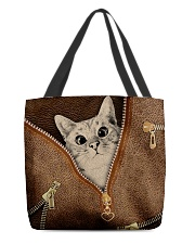 Cat All-over Tote back