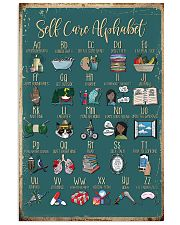 Self care alphabet 11x17 Poster front