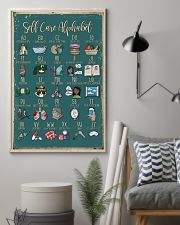 Self care alphabet 11x17 Poster lifestyle-poster-1