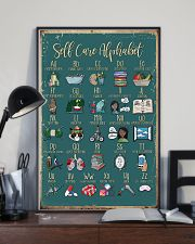 Self care alphabet 11x17 Poster lifestyle-poster-2