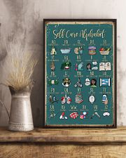 Self care alphabet 11x17 Poster lifestyle-poster-3
