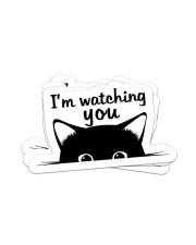 I'm watching you Sticker - 4 pack (Horizontal) front