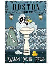 Boston Bath Time 11x17 Poster front