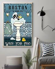 Boston Bath Time 11x17 Poster lifestyle-poster-1