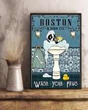 Boston Bath Time 11x17 Poster lifestyle-poster-3
