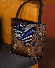 I back the blue  All-over Tote aos-all-over-tote-lifestyle-front-02