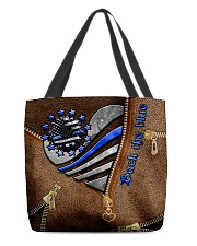I back the blue  All-over Tote front