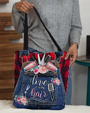 Love is in the hair All-over Tote aos-all-over-tote-lifestyle-front-10