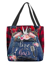 Love is in the hair All-over Tote front