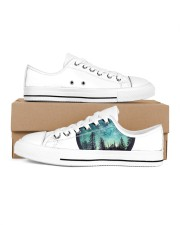 LIMITED EDITION Men's Low Top White Shoes inside-left-outside-left