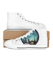 LIMITED EDITION Women's High Top White Shoes thumbnail