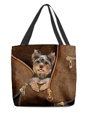Cute Yorkshire Terrier  All-over Tote front