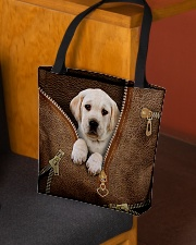 Cute Labrador Retriever All-over Tote aos-all-over-tote-lifestyle-front-02