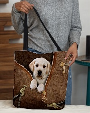 Cute Labrador Retriever All-over Tote aos-all-over-tote-lifestyle-front-10