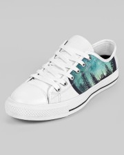 LIMITED EDITION Men's Low Top White Shoes aos-men-low-top-shoes-ghosted-white-outside-left-02