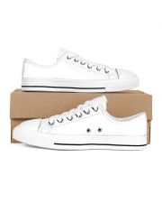 LIMITED EDITION Men's Low Top White Shoes inside-right-outside-right