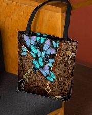 Blue butterflies All-over Tote aos-all-over-tote-lifestyle-front-02