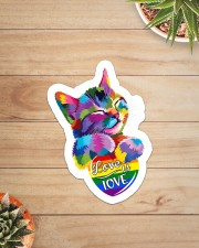 Love is love Sticker - Single (Vertical) aos-sticker-single-vertical-lifestyle-front-07