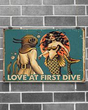 Love at first dive 17x11 Poster poster-landscape-17x11-lifestyle-18