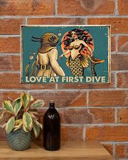Love at first dive 17x11 Poster poster-landscape-17x11-lifestyle-23