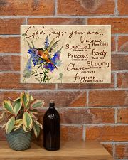 God says you are 17x11 Poster poster-landscape-17x11-lifestyle-23