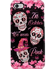 In october we wear pink Phone Case i-phone-8-case