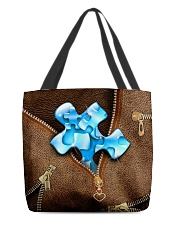 Autism awareness All-over Tote back