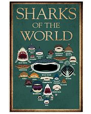 Sharks of the world 11x17 Poster front