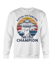 Vintage social distancing champion ufo shirt Crewneck Sweatshirt tile