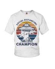 Vintage social distancing champion ufo shirt Youth T-Shirt tile