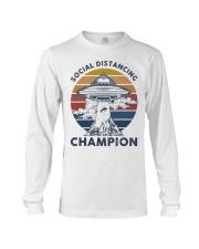 Vintage social distancing champion ufo shirt Long Sleeve Tee tile