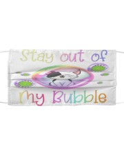 baby cat stay out of my bubble face mask Cloth face mask front