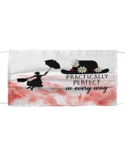 practically perfect in every way Cloth face mask front