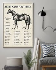 Right name for things horse poster 11x17 Poster lifestyle-poster-1