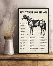Right name for things horse poster 11x17 Poster lifestyle-poster-3