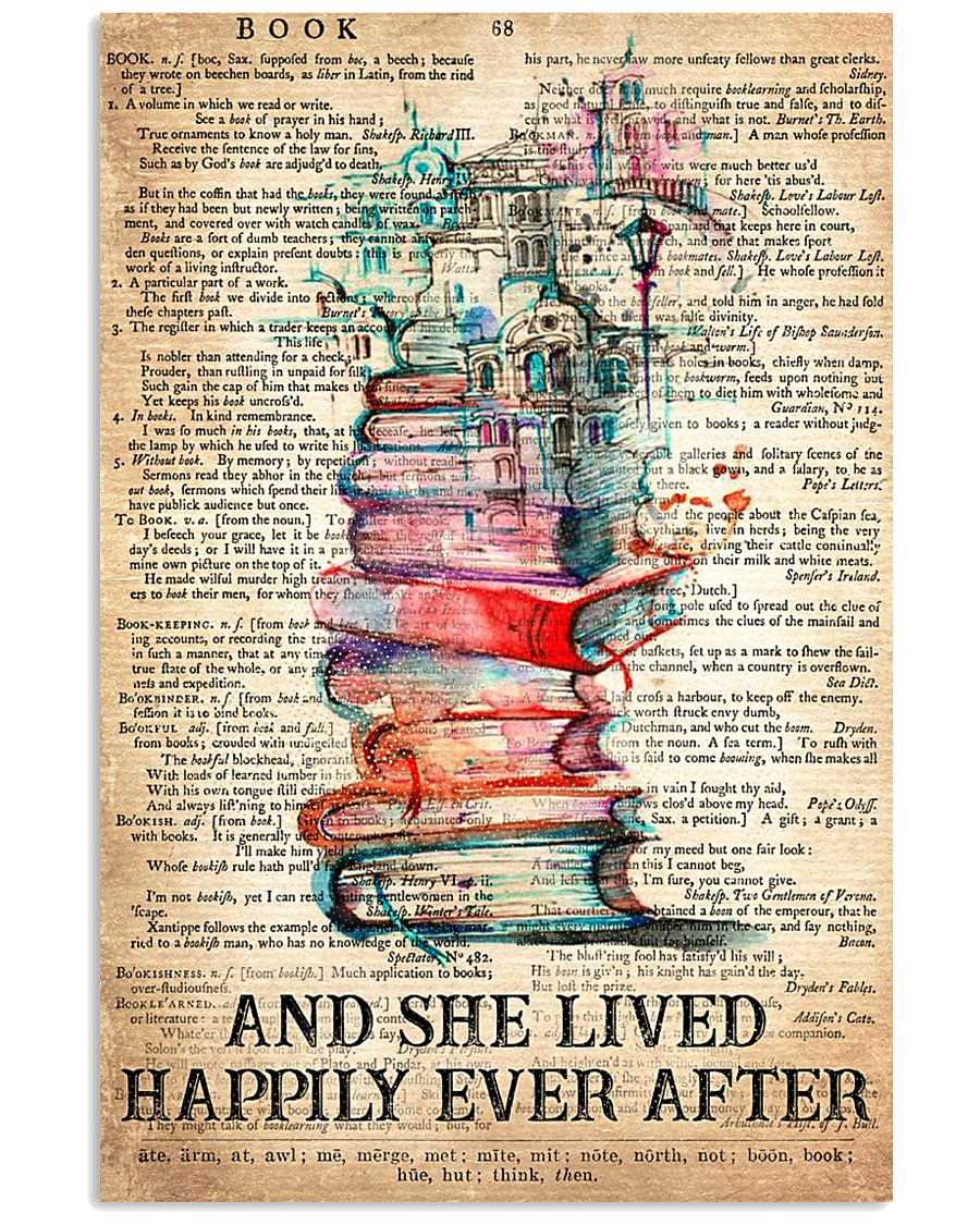Books 24x36 Poster