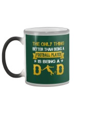 A Football player and a dad Color Changing Mug color-changing-left
