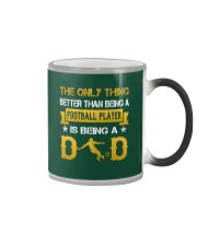 A Football player and a dad Color Changing Mug color-changing-right