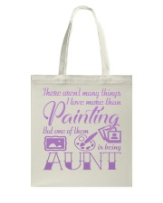 Painting Aunt Tote Bag thumbnail