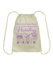 Painting Aunt Drawstring Bag thumbnail