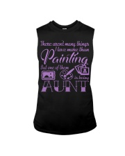 Painting Aunt Sleeveless Tee thumbnail