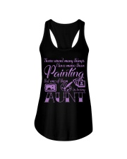 Painting Aunt Ladies Flowy Tank thumbnail