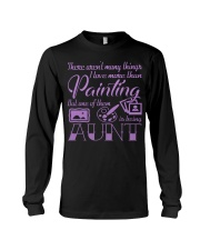 Painting Aunt Long Sleeve Tee thumbnail