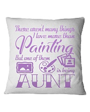 Painting Aunt Square Pillowcase thumbnail