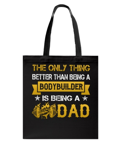 A bodybuilder and a dad