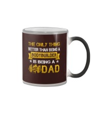 A bodybuilder and a dad Color Changing Mug color-changing-right