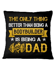 A bodybuilder and a dad Square Pillowcase thumbnail